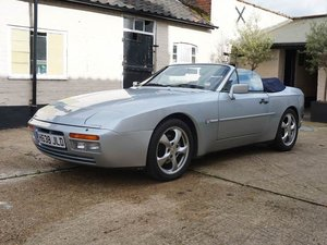 1990 Porsche 944 S2 Cabriolet at ACA 2nd November