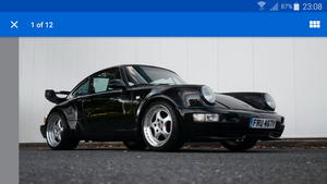 1983 PORSCHE 911 930 TURBO 964 KIT may take px