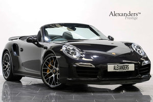 2014 14 14 PORSCHE 911 TURBO S CABRIOLET PDK AUTO For Sale