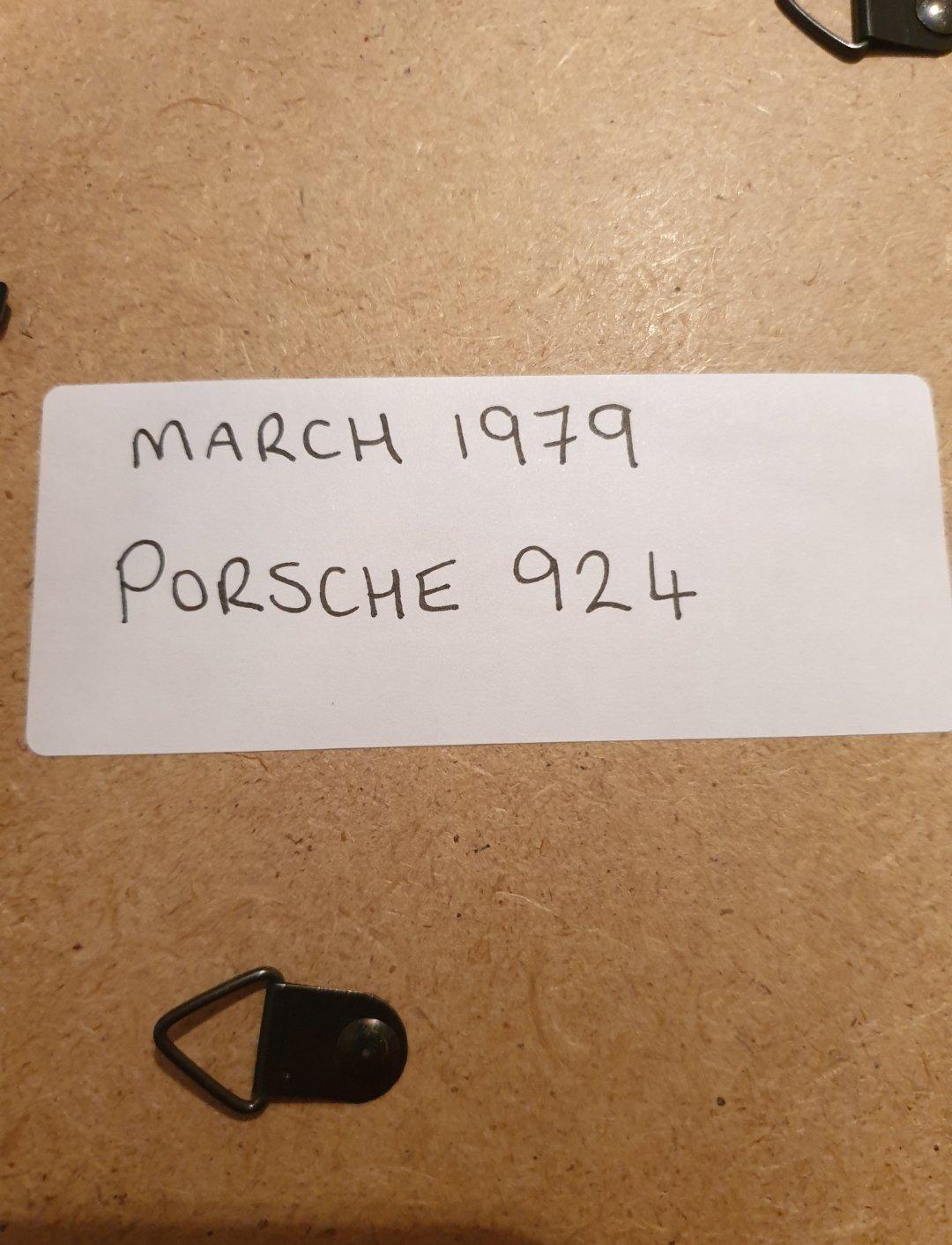 1979 Original Porsche 924 Framed Advert For Sale (picture 2 of 2)
