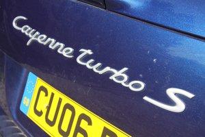 2006 Porsche Cayenne Turbo S - RARE top spec S model For Sale
