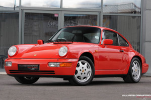 1990 Porsche 964 Carrera 4 manual coupe For Sale