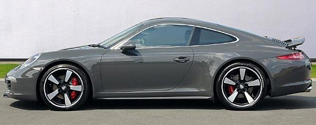 2014 Porsche Carrera 911 50 Anniversary Delivery Miles