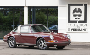 Porsche 911S Targa -RESTORED- BOOKS & TOOLS