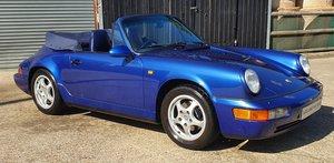 1993 Collector Quality - Porsche 911 964 Cabriolet - 64,000 Miles