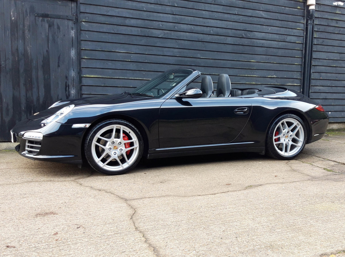 2010 PORSCHE 911/997 GEN II 3.8 CARRERA 4S PDK CAB ( Huge Spec ) SOLD (picture 1 of 6)