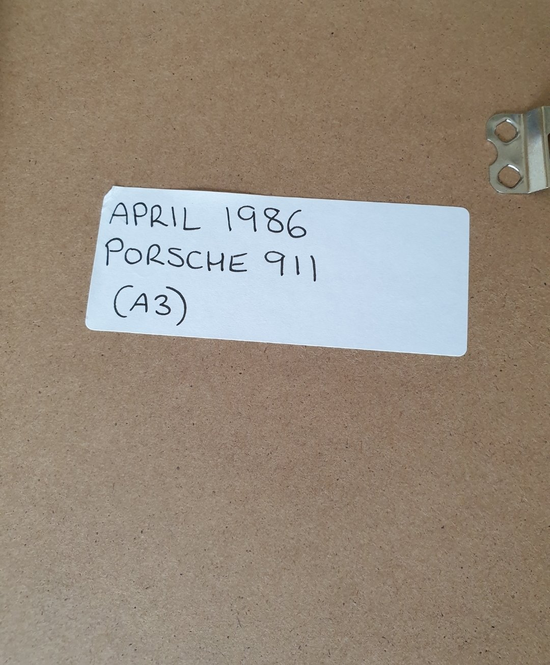 1986 Porsche 911 Advert Original  For Sale (picture 2 of 2)