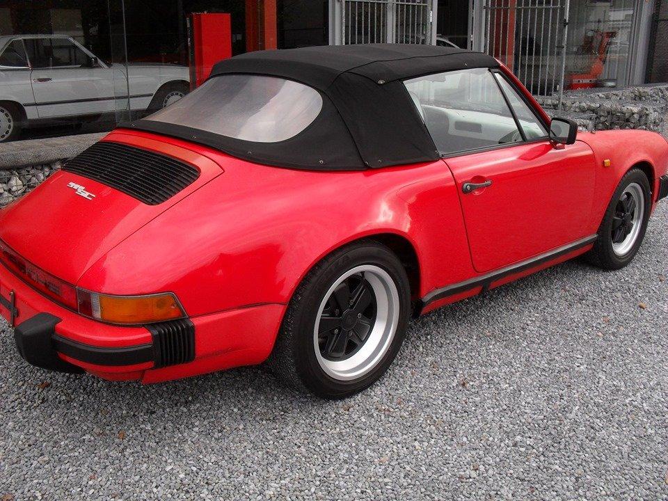 1983 LHD Porsche 911 sc 3.0 cabriolet LEFT HAND DRIVE For Sale (picture 1 of 6)