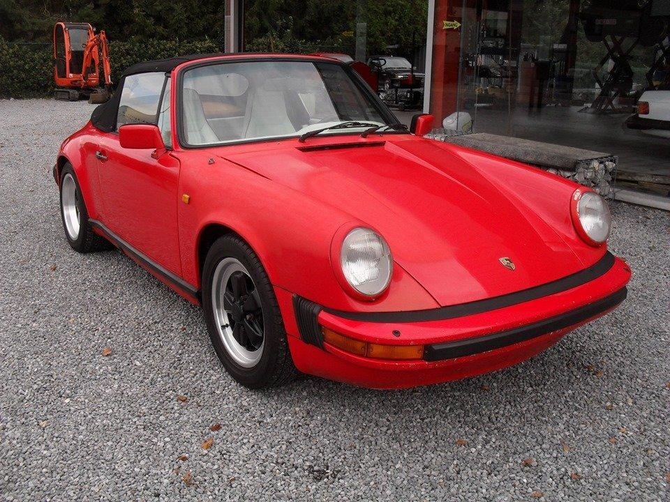 1983 LHD Porsche 911 sc 3.0 cabriolet LEFT HAND DRIVE For Sale (picture 2 of 6)
