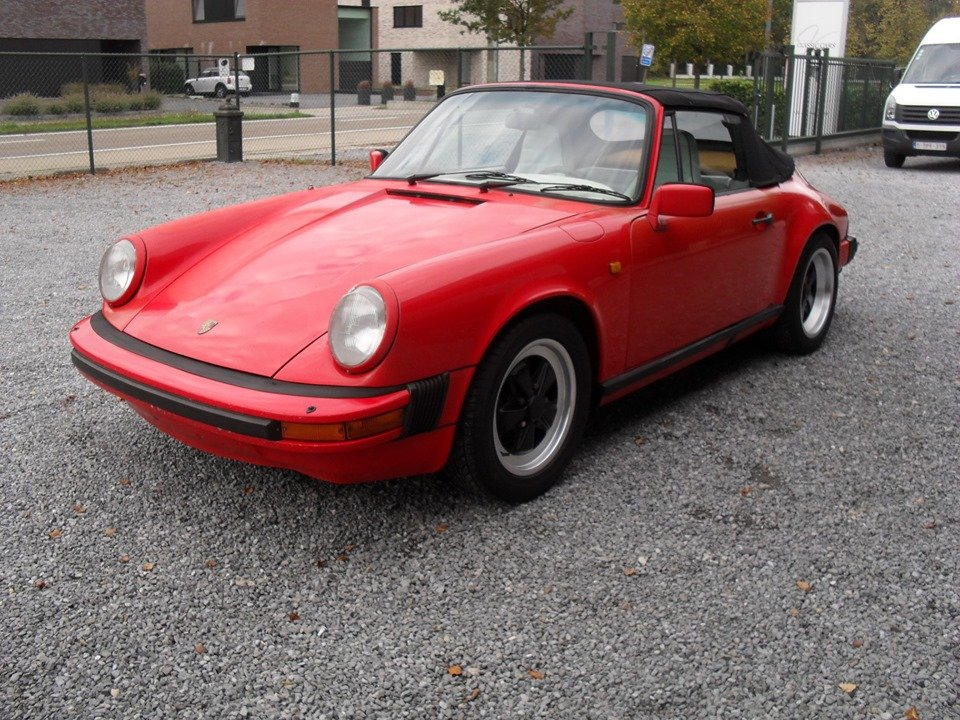 1983 LHD Porsche 911 sc 3.0 cabriolet LEFT HAND DRIVE For Sale (picture 3 of 6)