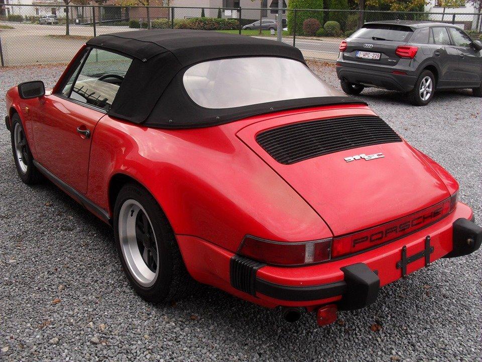 1983 LHD Porsche 911 sc 3.0 cabriolet LEFT HAND DRIVE For Sale (picture 4 of 6)