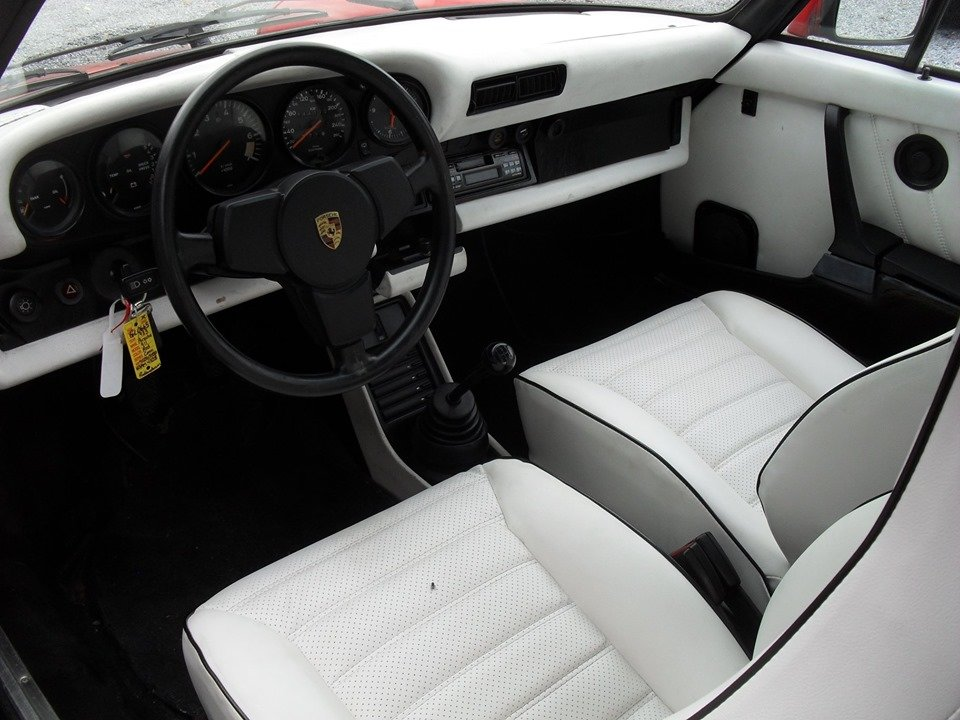 1983 LHD Porsche 911 sc 3.0 cabriolet LEFT HAND DRIVE For Sale (picture 5 of 6)