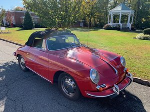 Highly Sought-After 1965 Porsche 356SC Cabriolet  #23134