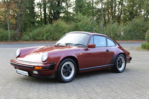1985 Euro specification Porsche 911 Carrera 3.2 Coupe 231ps SOLD
