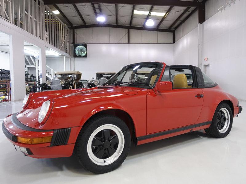 1988 Porsche 911 Carrera 3.2 Targa For Sale (picture 1 of 6)
