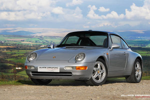 1997 Concours standard Porsche 993 Targa manual (9,400 miles) For Sale