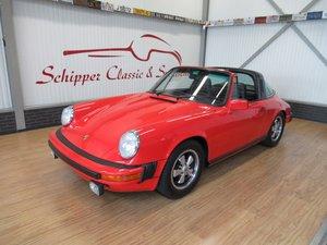 Porsche 911S Targa Small Body / Sportomatic For Sale