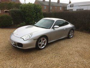 2002 Porsche 911 Carrera 4S manual