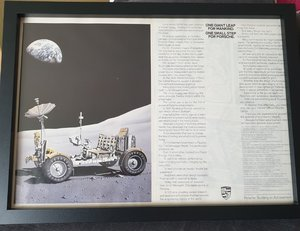 1984 Original Porsche Framed Advert For Sale