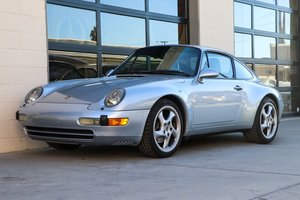 1996 Porsche 911 Carrera Coupe Manual Sunroof Silver $59.5k For Sale