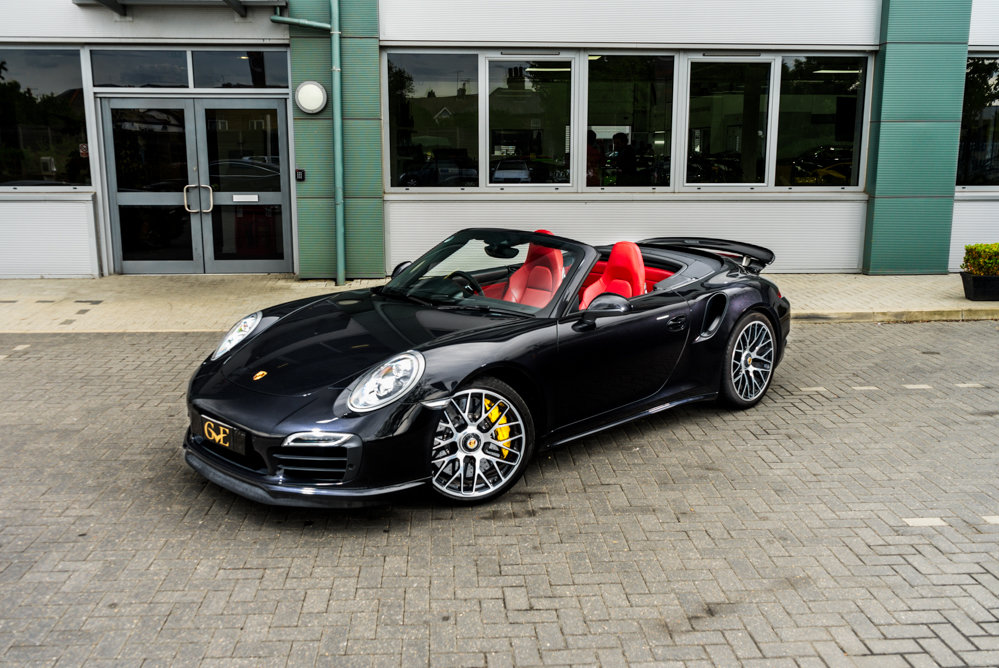 2014 Porsche 911 (991.1) Turbo S Cabriolet SOLD (picture 1 of 6)