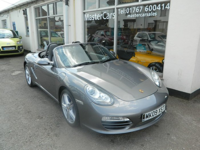 2009/09 PORSCHE BOXSTER 2.9 CONVERTIBLE 2DR 97148 MLS FSH For Sale (picture 1 of 6)