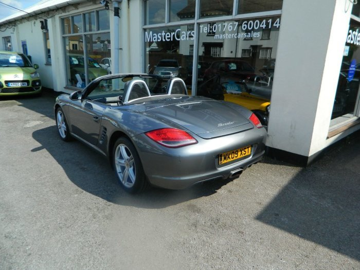 2009/09 PORSCHE BOXSTER 2.9 CONVERTIBLE 2DR 97148 MLS FSH For Sale (picture 2 of 6)