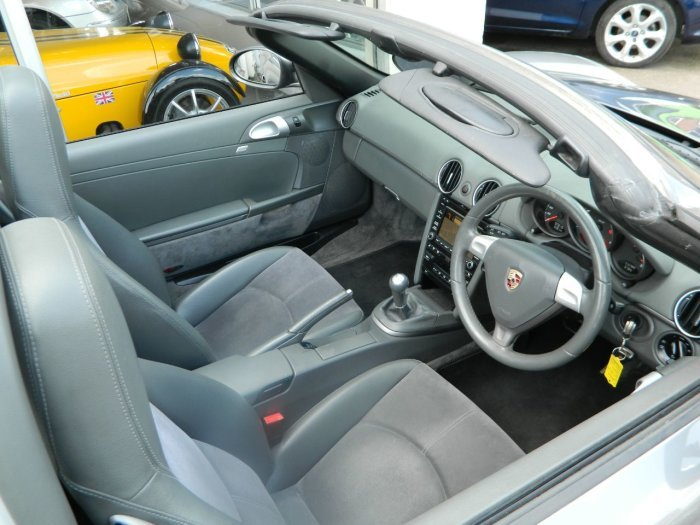 2009/09 PORSCHE BOXSTER 2.9 CONVERTIBLE 2DR 97148 MLS FSH For Sale (picture 4 of 6)