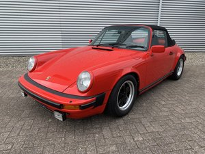 POrsche 911 Sc 3.0 Convertible 1983 complete restored For Sale