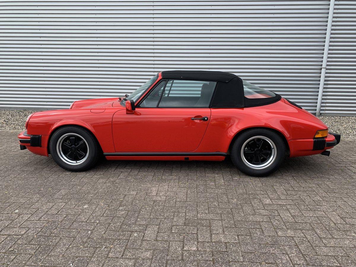 POrsche 911 Sc 3.0 Convertible 1983 complete restored For Sale (picture 2 of 6)