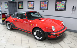 1988 Porsche 911 Supersport Targa For Sale