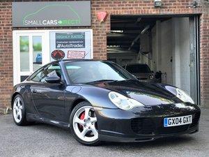 2004 Porsche Carrera 4S 3.6 Tiptronic Atlas Grey Watch Video For Sale