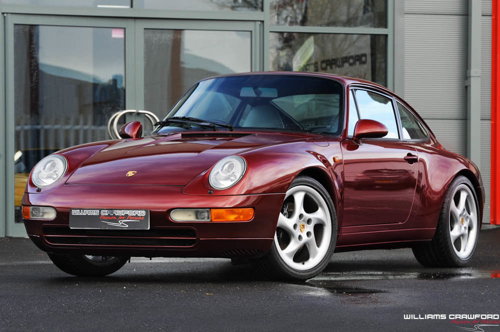 1996 Porsche 993 Carrera manual coupe For Sale (picture 1 of 6)