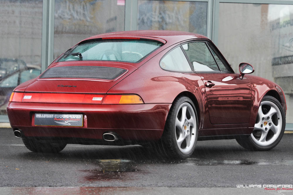 1996 Porsche 993 Carrera manual coupe For Sale (picture 2 of 6)