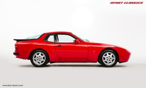 1990 PORSCHE 944 S2 // STUNNING GUARDS RED // 27K MILES // FAMILY
