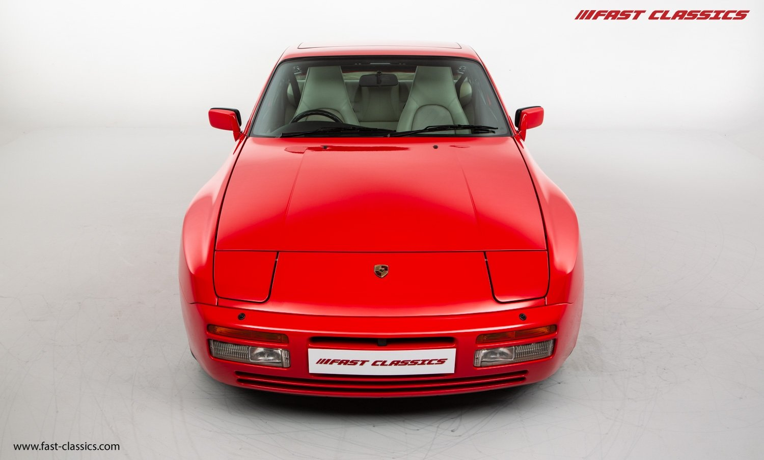 1990 PORSCHE 944 S2 // STUNNING GUARDS RED // 27K MILES // FAMILY For Sale (picture 4 of 23)