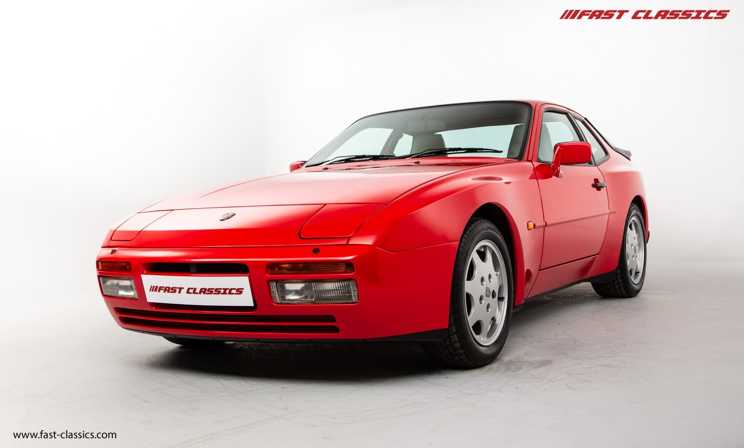1990 PORSCHE 944 S2 // STUNNING GUARDS RED // 27K MILES // FAMILY For Sale (picture 6 of 23)