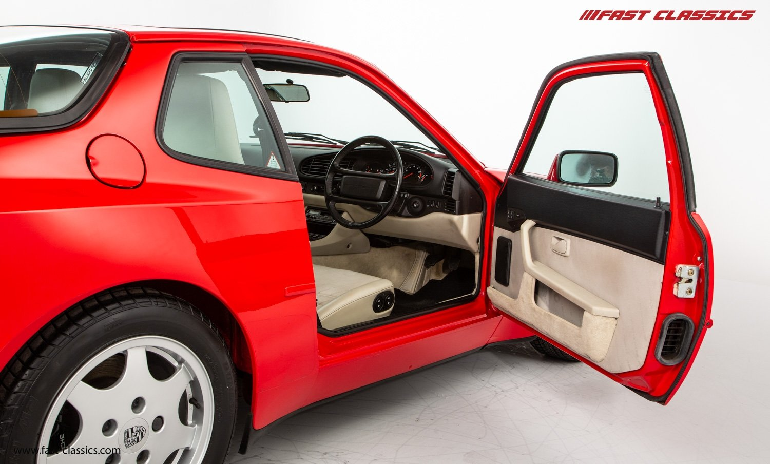 1990 PORSCHE 944 S2 // STUNNING GUARDS RED // 27K MILES // FAMILY For Sale (picture 10 of 23)