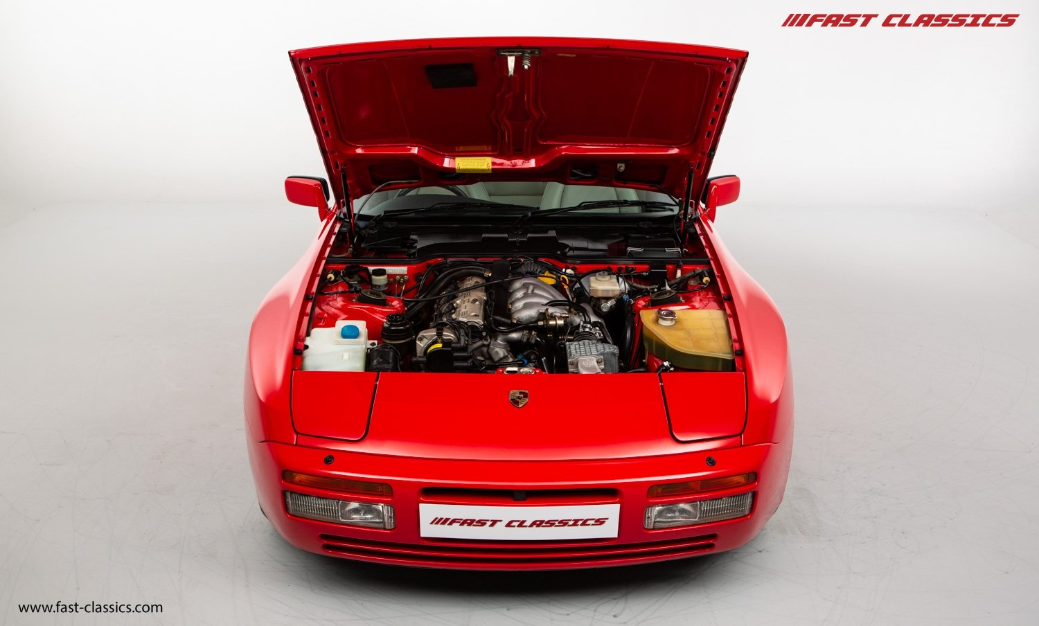 1990 PORSCHE 944 S2 // STUNNING GUARDS RED // 27K MILES // FAMILY For Sale (picture 16 of 23)
