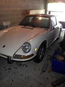 Soft Window Targa 911L Ultra rare car, Matching!