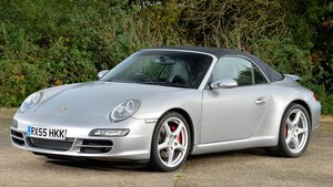 2005 Porsche 997 Carrera S Convertible - DEPOSIT TAKEN SOLD