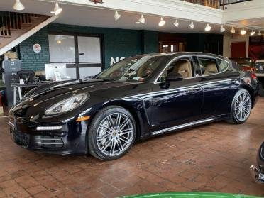 2015  Porsche Panamera 4S 420-HP AWD Black(~)Tan $46.9k