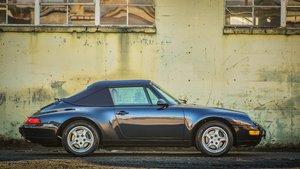 1995 Porsche 911 Carrera Cabriolet Night Blue(~)Tan $57.5k  For Sale