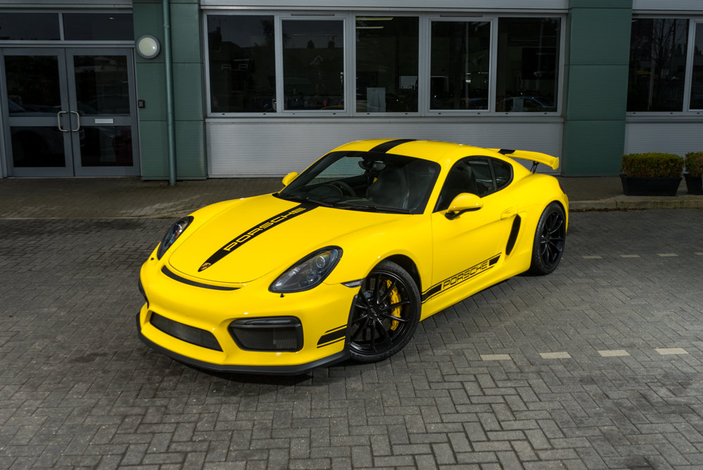 Porsche 981 Cayman GT4 2015 SOLD (picture 1 of 6)