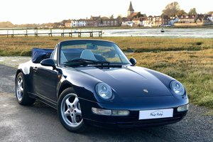 1997 Porsche 993 Carrera 4 Cabriolet, one of the last aircooled For Sale