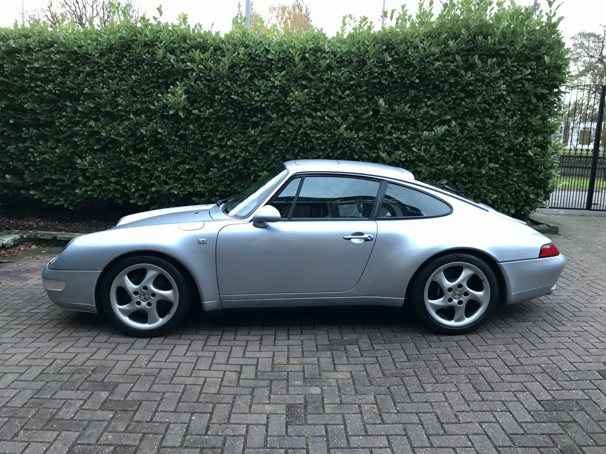 1996 Porsche 911 993 carrera 2 3.6 manual silver For Sale (picture 1 of 6)