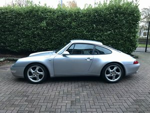1996 Porsche 911 993 carrera 2 3.6 manual silver For Sale