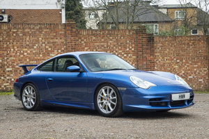 2003 PORSCHE 996 GT3 RHD COBALT BLUE METALLIC