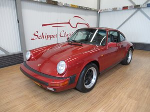 1984 Porsche 911 Carrera Coupé 3.2L Siena Red Metallic For Sale