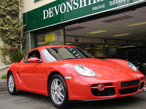 2007 PORSCHE CAYMAN 2.7  COUPE ONLY 28,718 MILES FROM NEW
